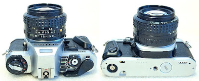 Pentax Super Program (Chrome) Body #840, Pentax SMC-A 50mm F1.4 #824
