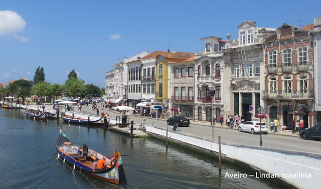 Kaupunkiloma Aveirossa Portugalissa