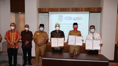 BSG gandeng BPKP tandatangani PKS Pengelolaan KASDA Pemda Bolsel