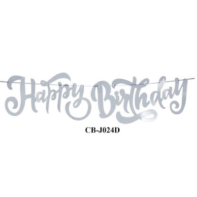 Bunting Garland HAPPY BIRTHDAY CB-J024D