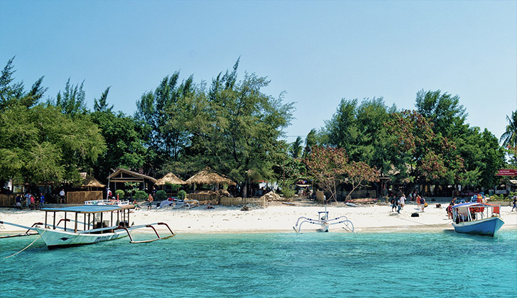 Gili Islands natural attractions
