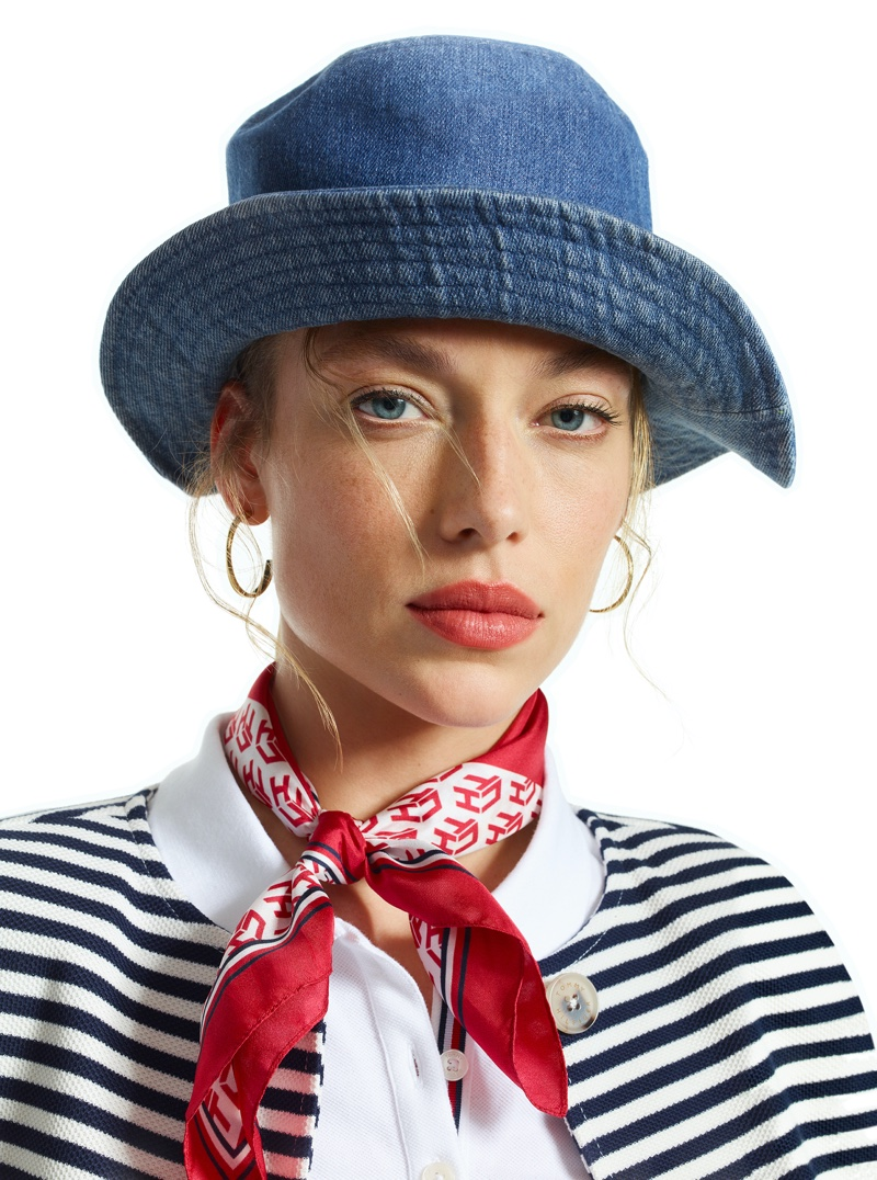 Hannah Ferguson stars in Tommy Hilfiger Icons spring-summer 2020 campaign