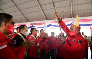 Bupati Batubara Hadiri Pelantikan Ketua DPC PBB Batubara Periode 2020-2025