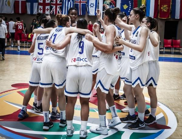 ΕΟΚ | Εθνική Νεανίδων: Ελλάδα – Κύπρος 79-35