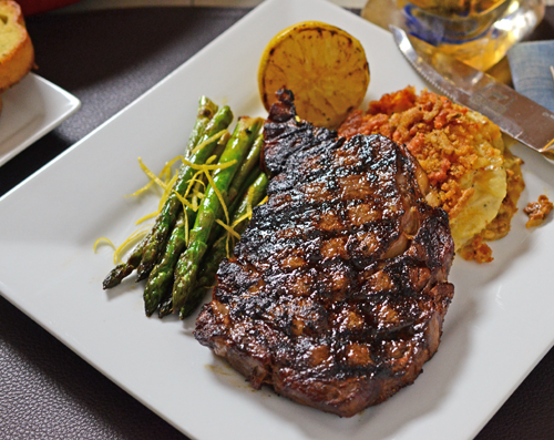 Image result for beautiful steak plating