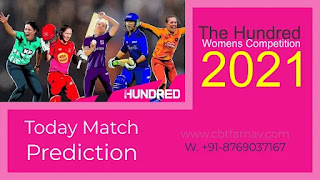 Match 32nd The Hundred Womens Competition: LNSW vs WEFW Today cricket match prediction 100 sure