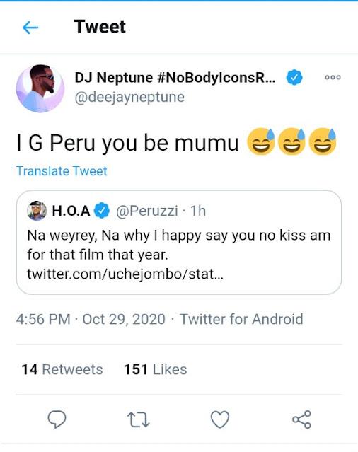 'Peruzzi You Be Mumu' - DJ Neptune Gets Back At Singer For Dissing Desmond Elliot