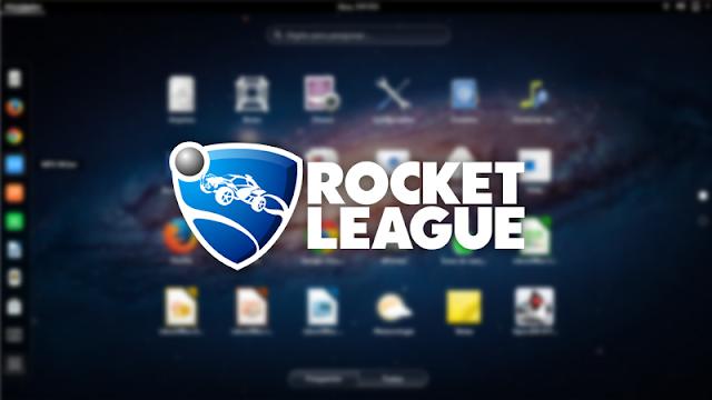 Rocket League no Fedora