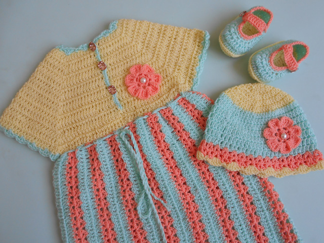 Crochet Crosia Free Patttern With Video Tutorials Crochet Stripe