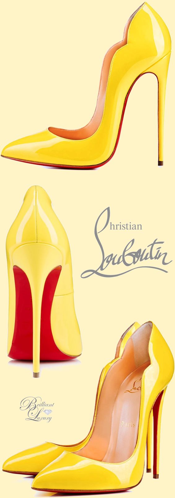 Brilliant Luxury ♦ Christian Louboutin 'Hot Chick'