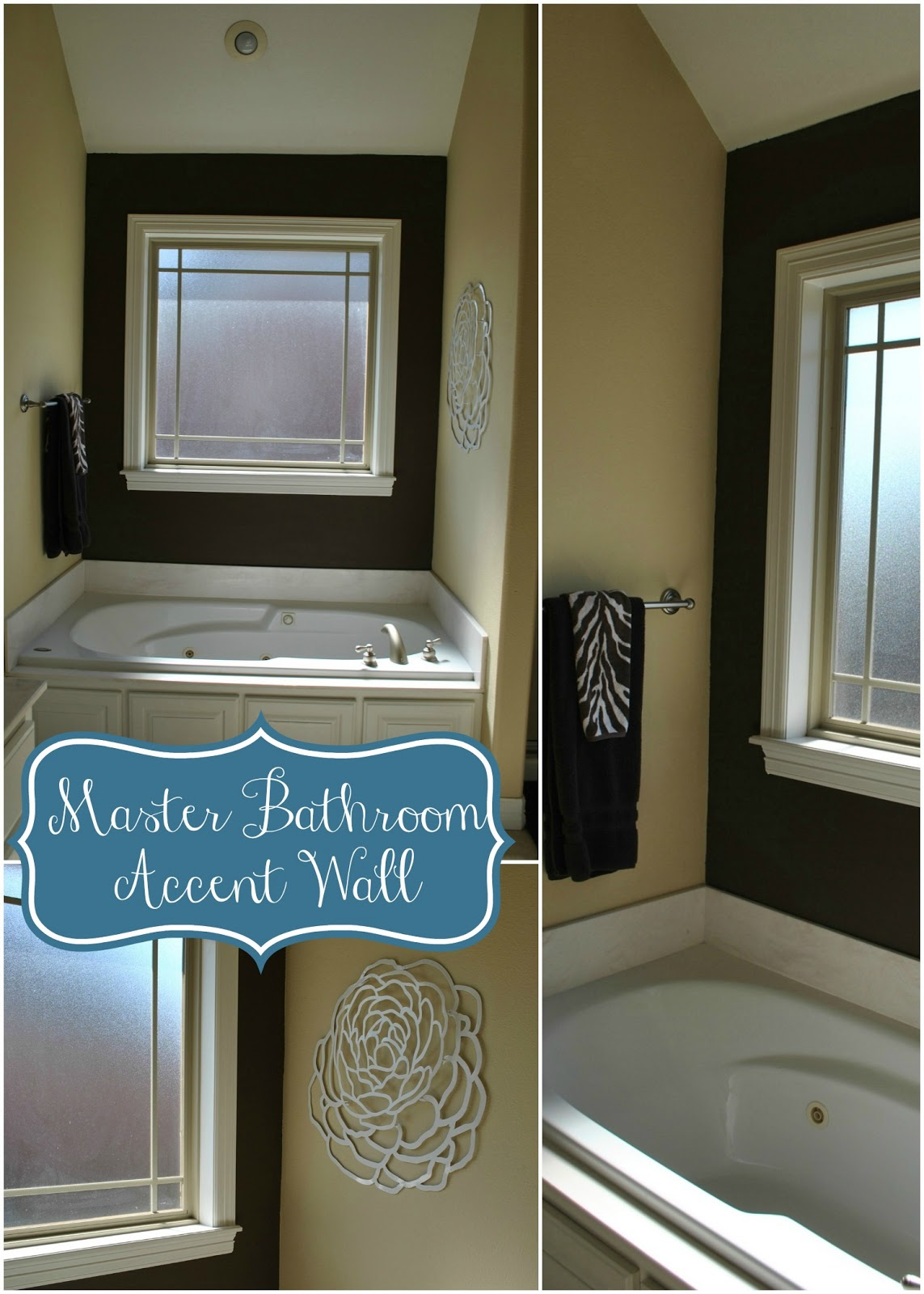 Best Wall Paint For Bathroom: The Francis Family: Master Bathroom Accent Wall