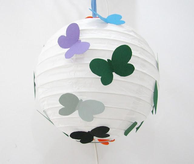 Luminaria-borboleta