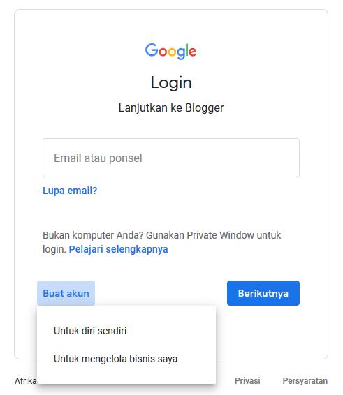 Cara Buat Akun Gmail Tanpa Nomor Hp 100 Berhasil