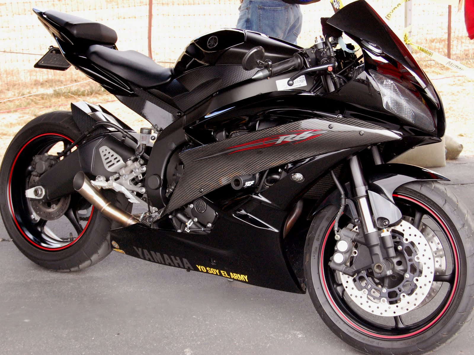 Cool Bikes Yamaha R6 Black