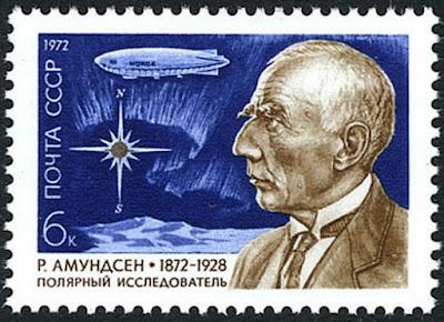 Russia Roald Amundsen, Norwegian Polar explorer, 1972