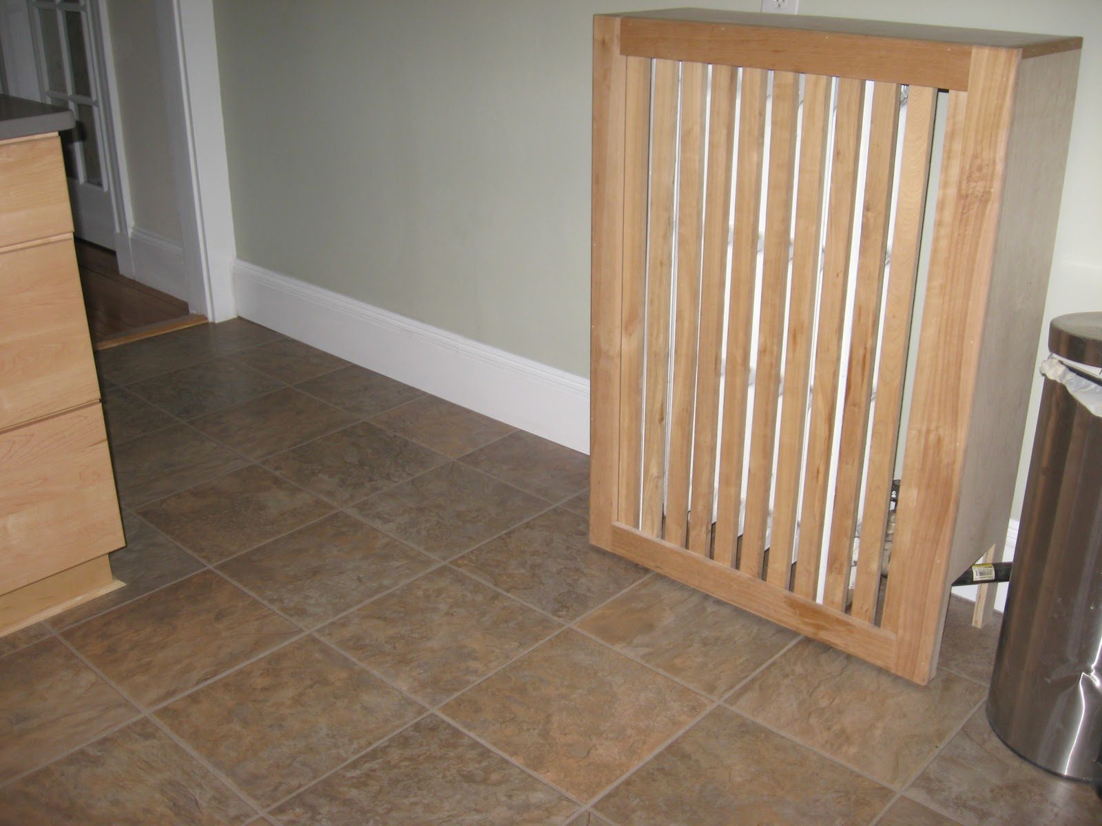 The Baseboards A 1x4 With Decorative Molding On Top 26
