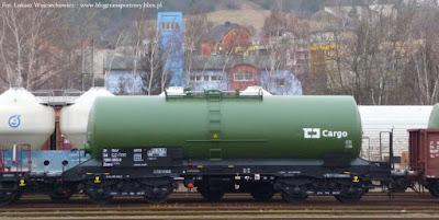 Wagon cysterna czeskich kolei ĆD