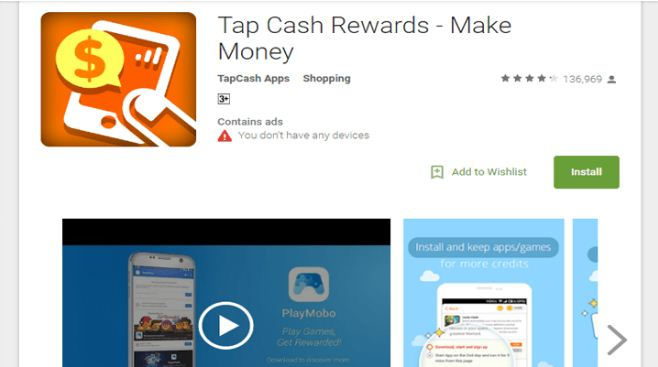 TapCash Rewards App