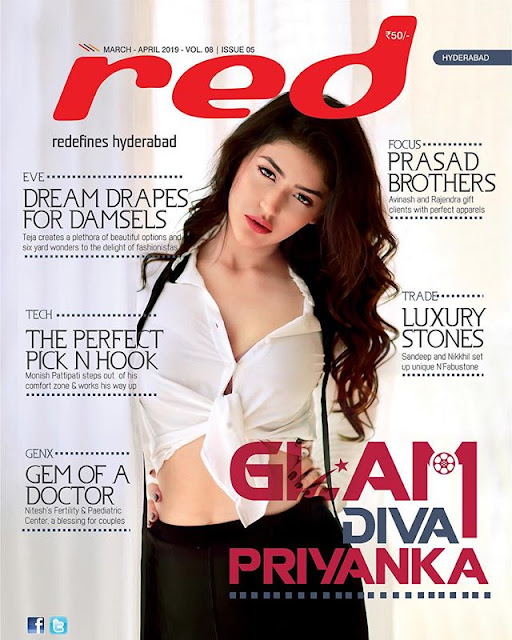 Priyanka Jawalkar Red Magazine