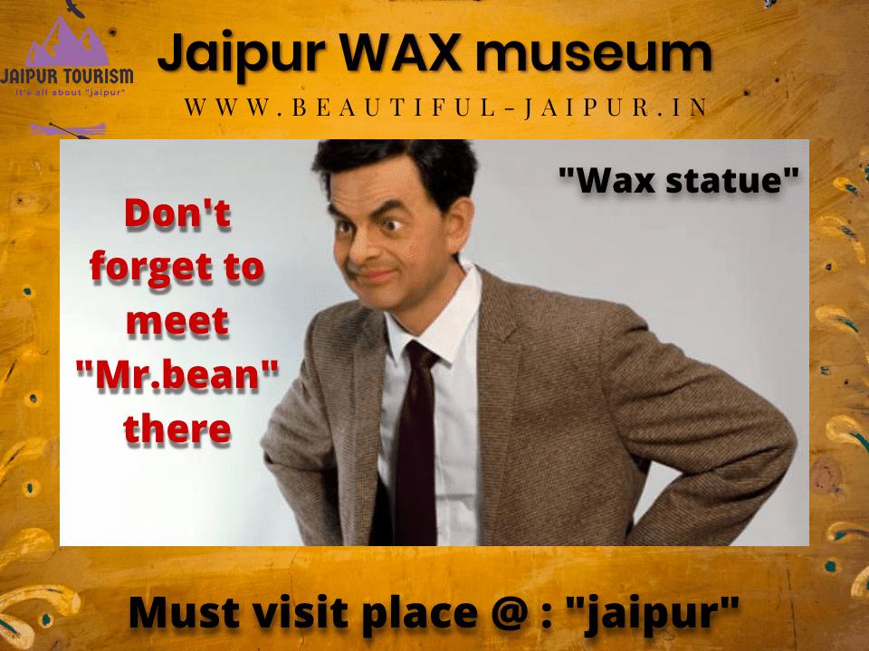 timing,ticket at jaipur wax musuem