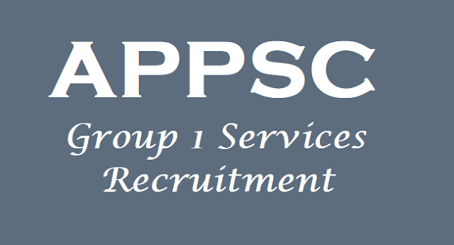 APPSC Group 1 recruitment, Group 1 Exam Answer key,Group I Results
