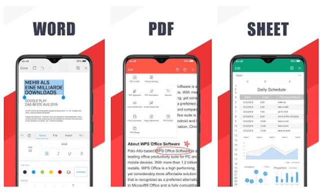 WPS Office + pdf premium apk
