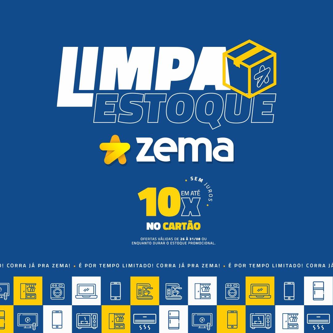 Zema Cajobi lança promoção Limpa Estoque com vários produtos