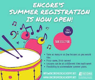 Encore Music Academy - Summer Registration now open