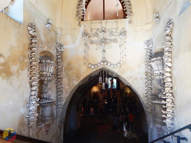 Entrada al Osario de Sedlec