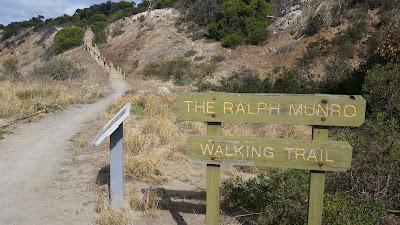 The Ralph Munro Walking Trail.