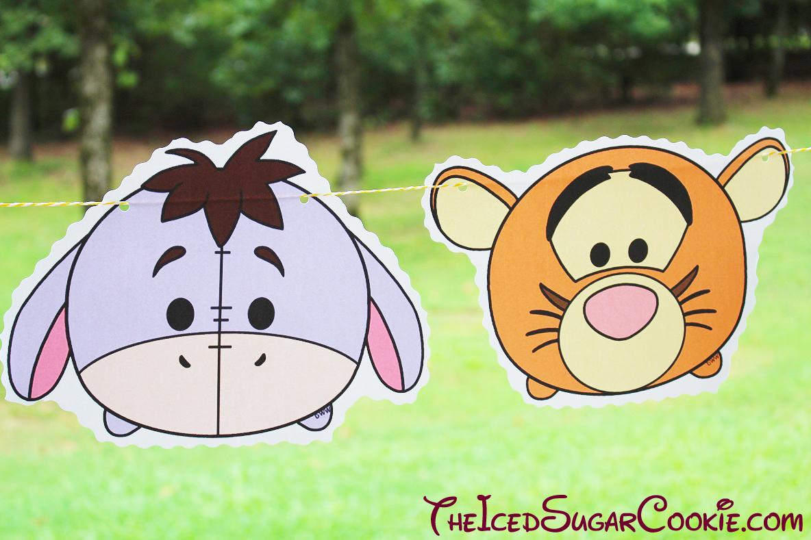 DIY Birthday Blog: Tsum Tsum Disney Characters Birthday