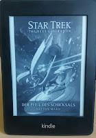 Das Cover zeigt die Pfeil des Schicksals und die Enterprise