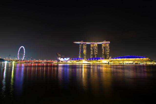 Singapore Flyer (Ruota panoramica)- Singapore