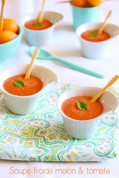 moi gourmande soupe froide melon tomate. Black Bedroom Furniture Sets. Home Design Ideas