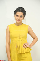 Taapsee Pannu looks mesmerizing in Yellow for her Telugu Movie Anando hma motion poster launch ~  Exclusive 104.JPG