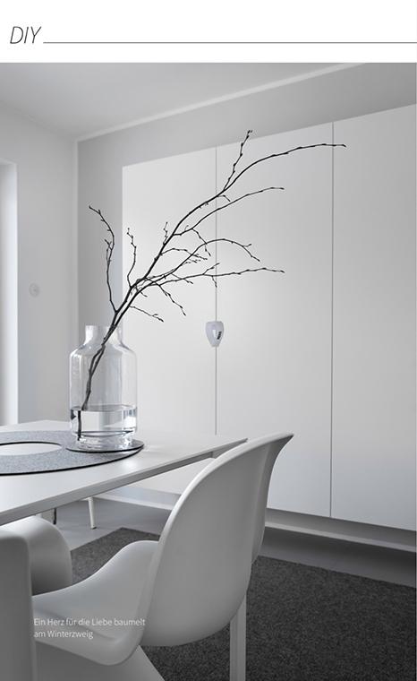 Valentinsherzen aus Papierstreifen selber basteln - kinderleicht gemacht. Die Anleitung findest du im MINIMALmagazin - minimalistisch wohnen und leben.