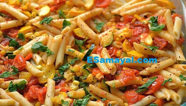 மரக்கறி பாஸ்தா செய்வது எப்படி? | Vegetable Pasta Recipe !