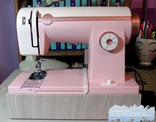 We R Memory Keepers Sew Happy Sewing Machine Has Arrived!!!