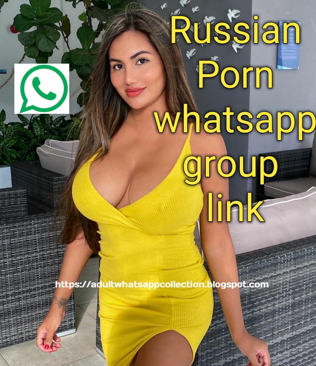 Russian Porn whatsapp group link