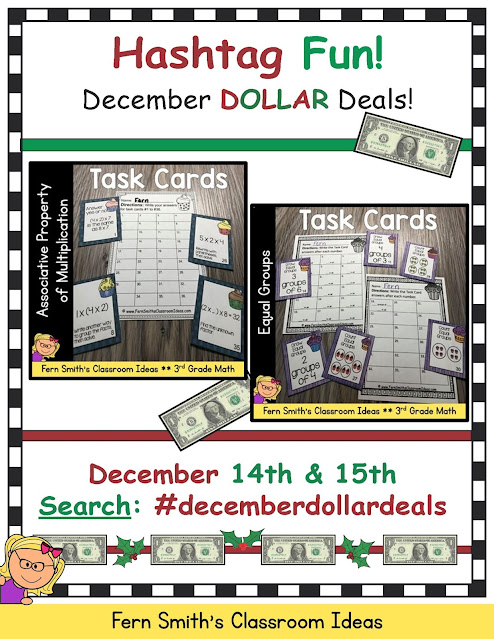 On TpT search #decemberdollardeals to see two items from each TpT Seller that is part of this sale.