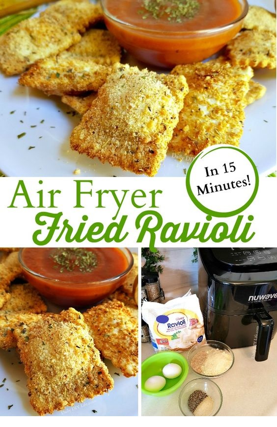 Fried Ravioli In Just 15 Minutes