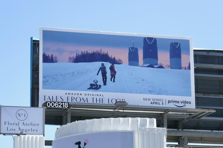 Tales from the Loop TV billboard
