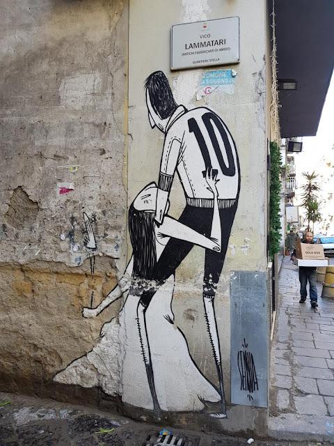 Murales-Vico Lammatari-Rione Sanità-Napoli