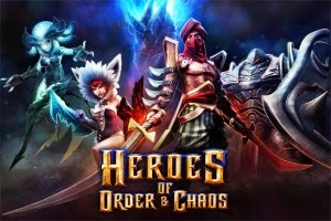 Heroes of Order & Chaos MOD Review APK+DATA 3.4.1a