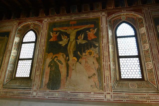 salle capitulaire abbaye de Pomposa