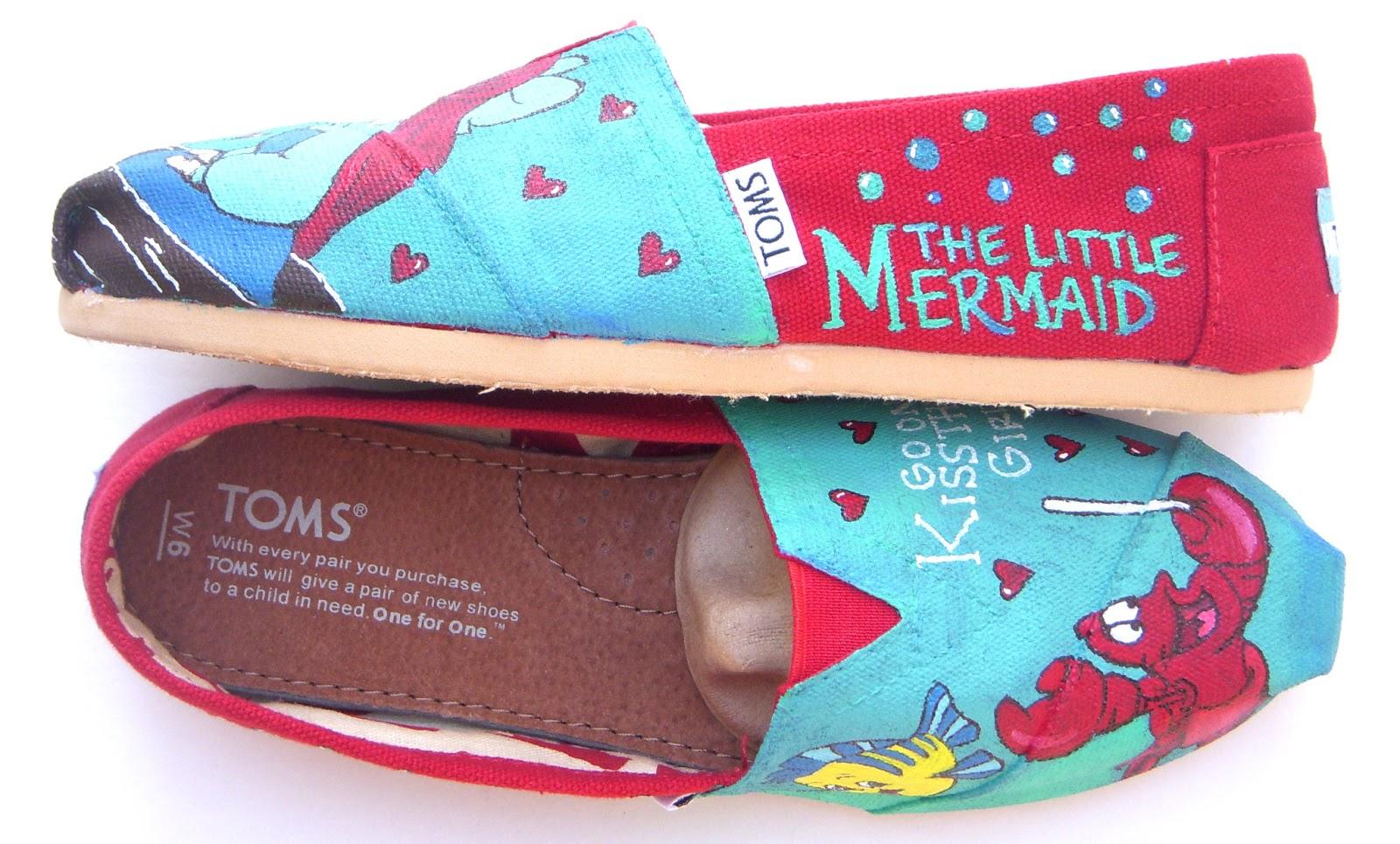 Design Your Own Home Nebraska Fruitful Feet The Little Mermaid Toms