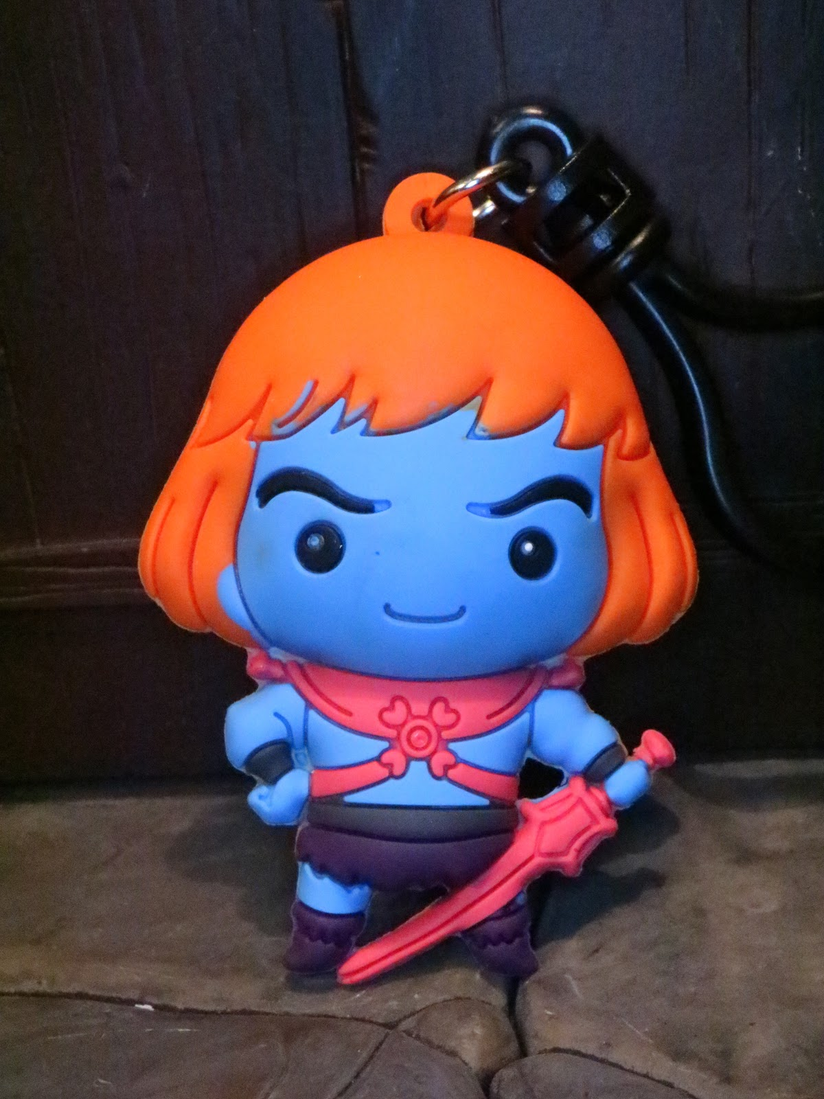 Masters of the Universe Figural Bag Clip 3 Inch Faker