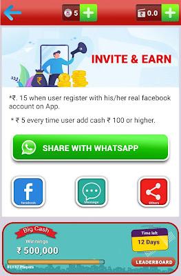 bigcash refer earn
