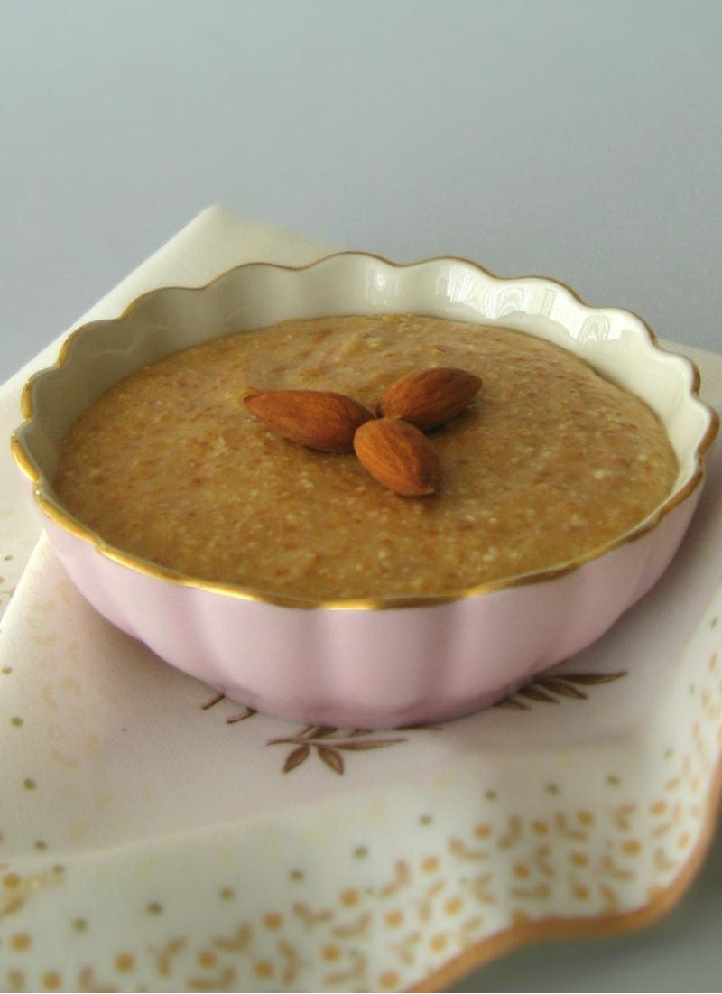 Creme de amêndoas e leite condensado / Toffee & almond cream
