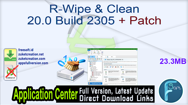 R-Wipe & Clean 20.0 Build 2305 + Patch